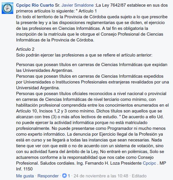 Amenaza del CPCIPC