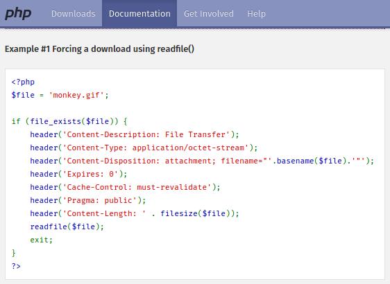 Ejemplo de PHP