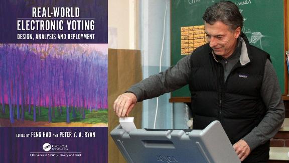 Macri y el voto electrónico en CABA