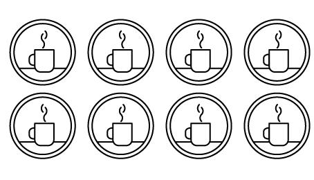 Café en todas partes