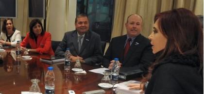 Reunión de CFK con Microsoft