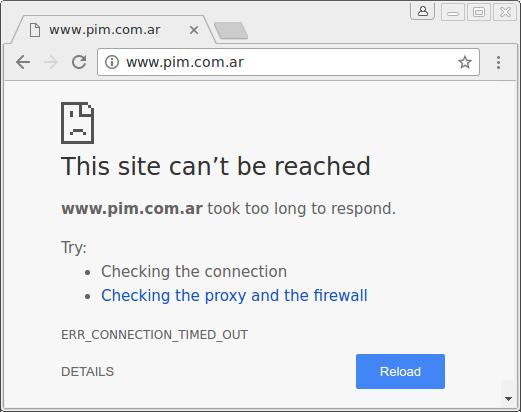 El sitio de PIM