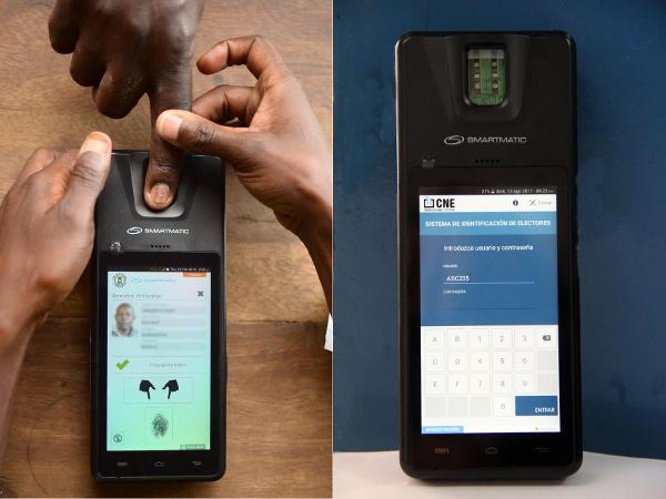 Sistema de Smartmatic en Uganda y Argentina