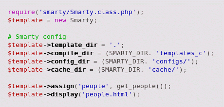 assign smarty