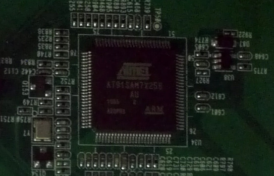 Atmel AT91SAM7X256