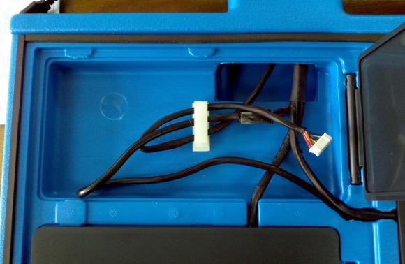 Cables en una máquina Vot.Ar